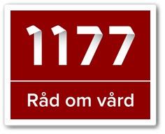 Logotyp 1177 Rad om vard